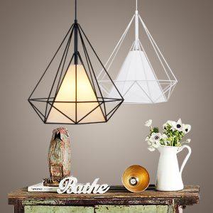 Modern-Metal-Birdcage-Pendant-Light-Black-Minimalist-Pendant-Lamp-E27-Hanging-Lamp-Light-Fixtures-Scandinavian-Pyramid